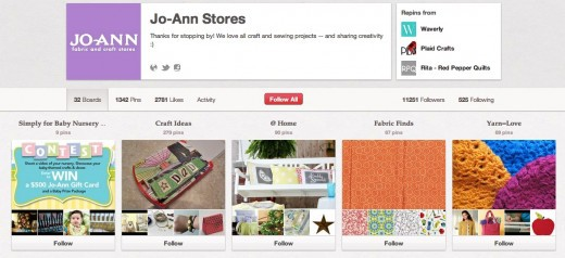 Pinterest:打造独具特色的钉板