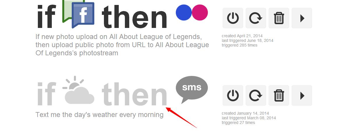 一键同步到各大社交平台 - ifttt.com