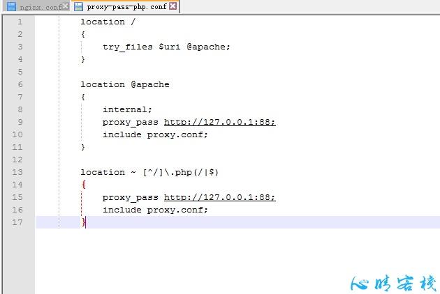 前nginx后Apache 配置 - LNMPA