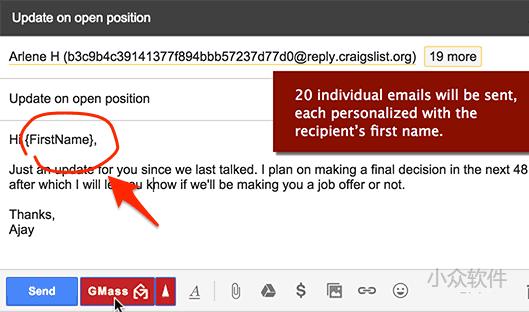 GMass – 用 Gmail 定制发送批量邮件