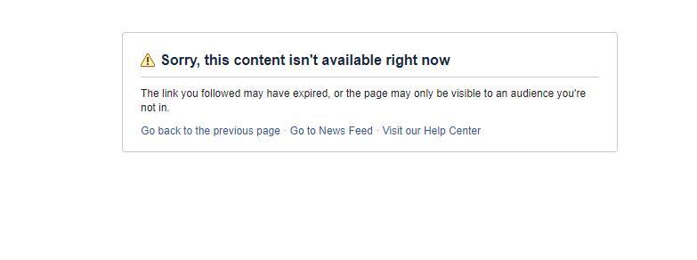 阿三的Facebook帐号全挂了