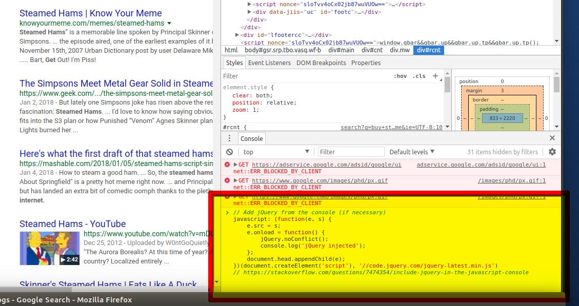 截取Google关键字搜索的前100个SERP结果 - Title和URL