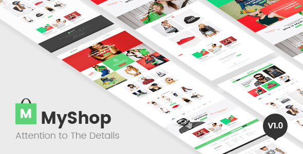 Shopify主题模板 – 免费、收费、破解付费模版36套Shopify主题打包下载(Shopify Themes)
