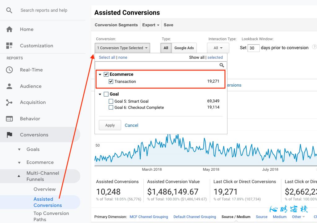 为什么Google Analytics和AdWords之间的转化不匹配
