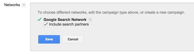 Google AdWords 后台你该设置的小细节